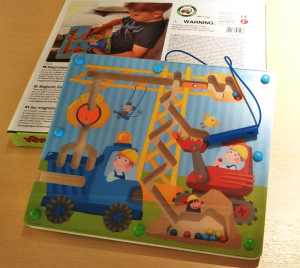 HABA-Magnetic game Build it up